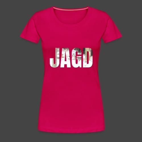 JAGD-Shirt für Jäger/innen, Motiv Winterjagd - Frauen Premium T-Shirt
