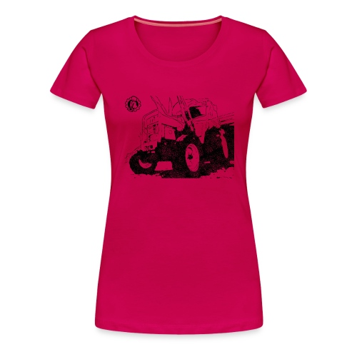 Mr. Moto IHC 633 Schwarz - Frauen Premium T-Shirt