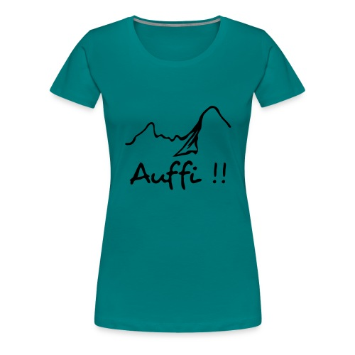 WatzeAuffi - Frauen Premium T-Shirt