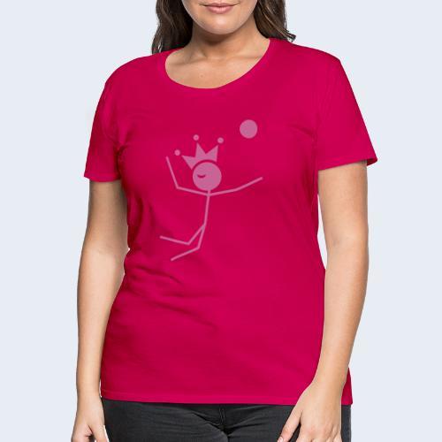 Volleybalkoning - Vrouwen Premium T-shirt