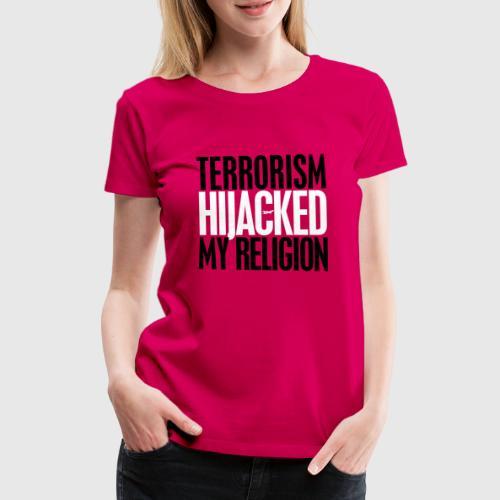 TERROISM invert png - Dame premium T-shirt