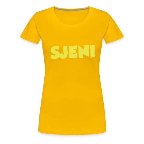 Sjeni - Premium T-skjorte for kvinner