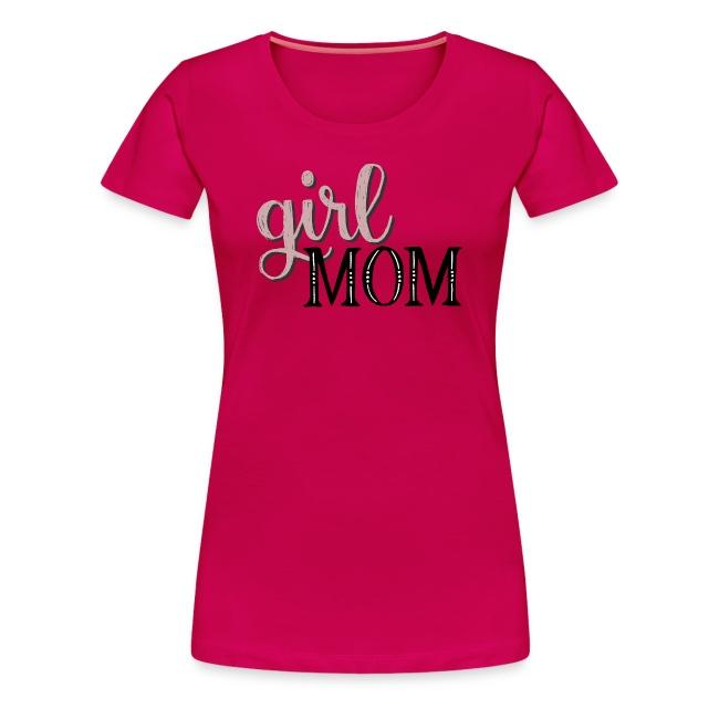 Schriftzug Girl Mom