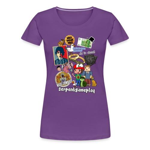 compilatie nieuw - Vrouwen Premium T-shirt