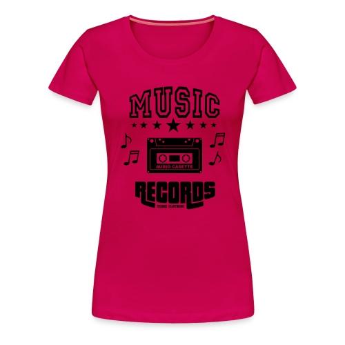 TKHKI MUSIC RECORDS - Naisten premium t-paita