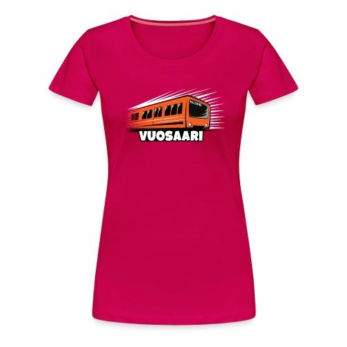 METRO VUOSAARI Helsinki, tekstiilit, lahjatuotteet - Naisten premium t-paita