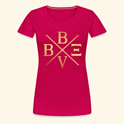 BVBE Gold X Factor - Women's Premium T-Shirt