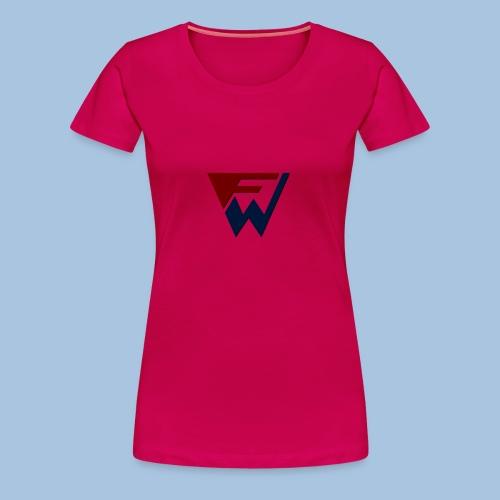 FW Logo - Women's Premium T-Shirt