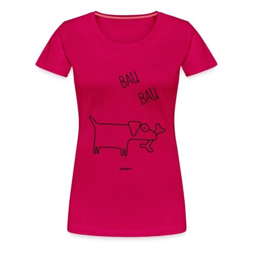 cane - Maglietta Premium da donna