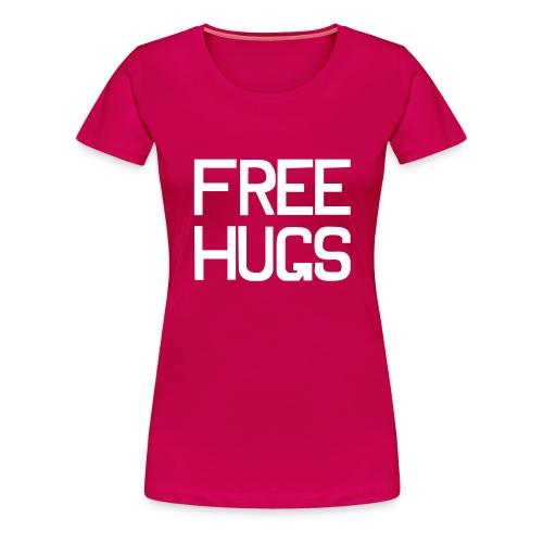 FREE HUGS - Vrouwen Premium T-shirt