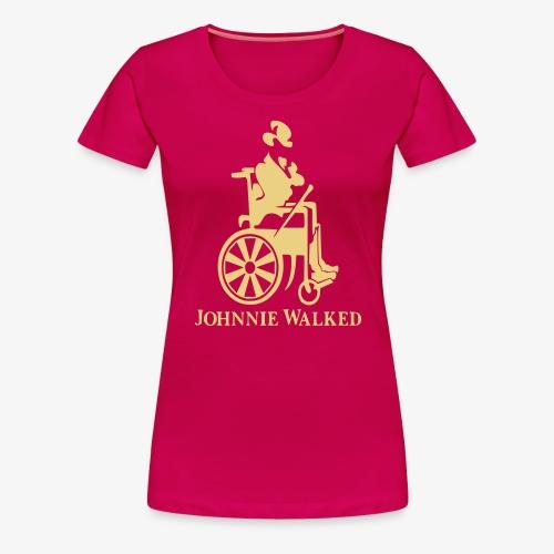 Voor rolstoel gebruikers die van Whisky houden - Vrouwen Premium T-shirt