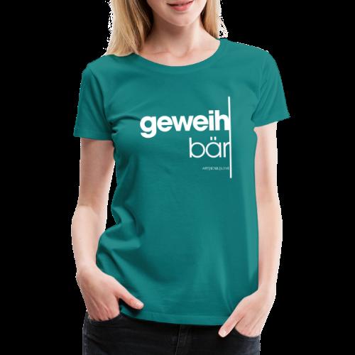geweihbär 2019 - Frauen Premium T-Shirt