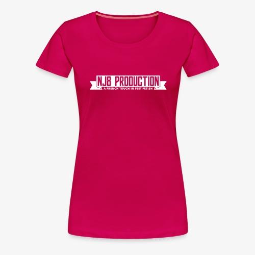NJ8 Prod - T-shirt Premium Femme