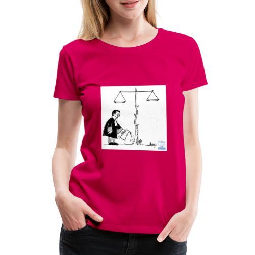 avocat jardinier - T-shirt Premium Femme