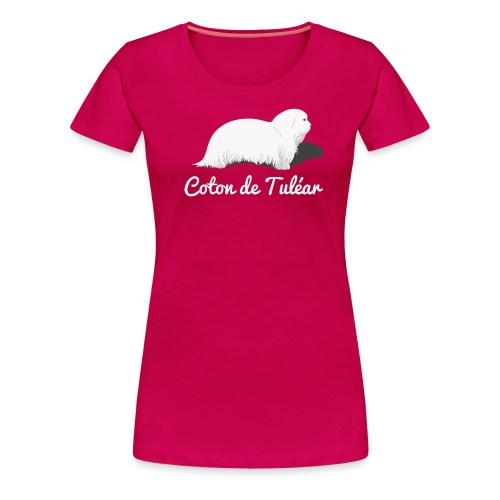 Coton de Tuléar - Frauen Premium T-Shirt
