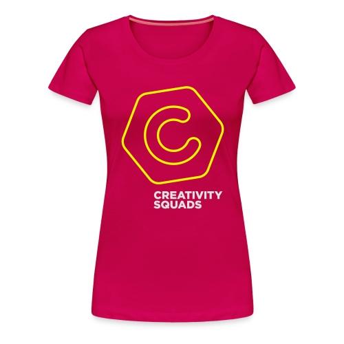 CS Hoodie Pink Unisex - Naisten premium t-paita
