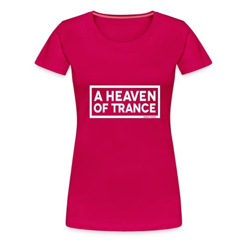 ahot logo LARGE white png - Women's Premium T-Shirt