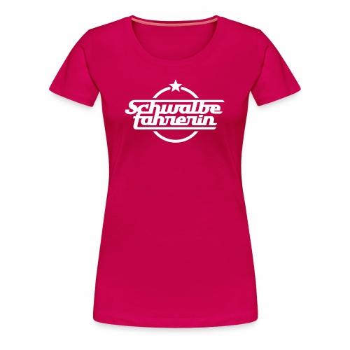 Schwalbefahrerin - Women's Premium T-Shirt