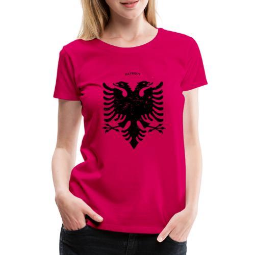 Albanischer Adler im Vintage Look - Patrioti - Frauen Premium T-Shirt