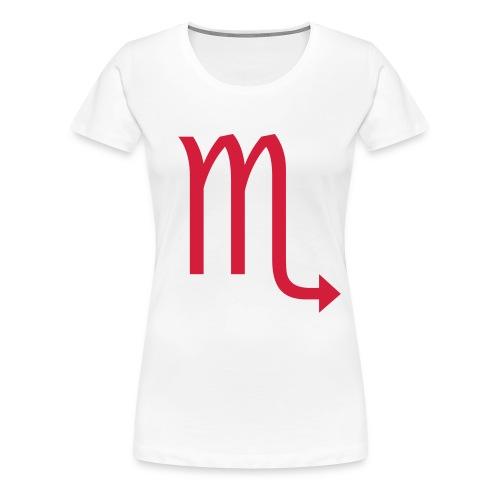 scorpio - scorpione - Maglietta Premium da donna