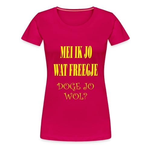 Doge - Vrouwen Premium T-shirt