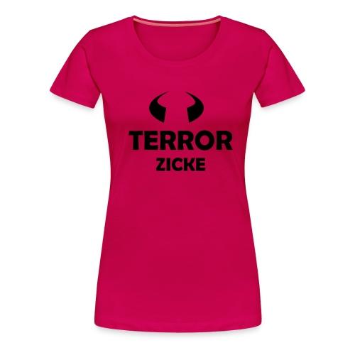 Terrorzicke - Frauen Premium T-Shirt