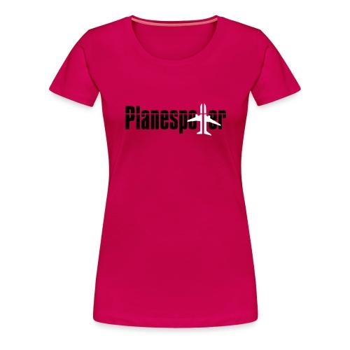 planespotter kopie - Frauen Premium T-Shirt