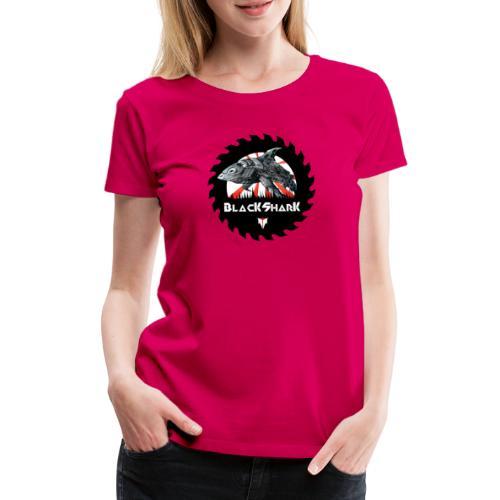 BlacKSharK Logo 2014 - Frauen Premium T-Shirt