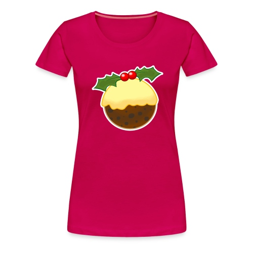Christmas Pudding - Women's Premium T-Shirt