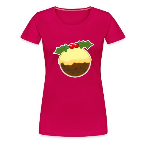 Christmas Pudding - Women's Premium T-Shirt