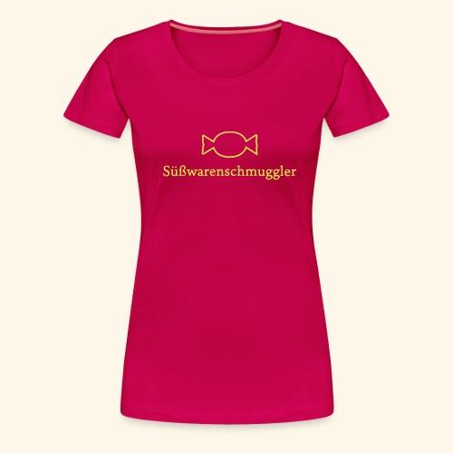 Süßwarenschmuggler - Frauen Premium T-Shirt