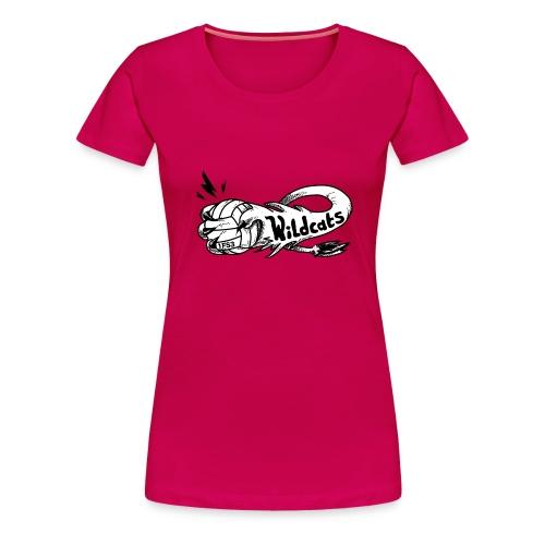 Wildcats Logo - Frauen Premium T-Shirt