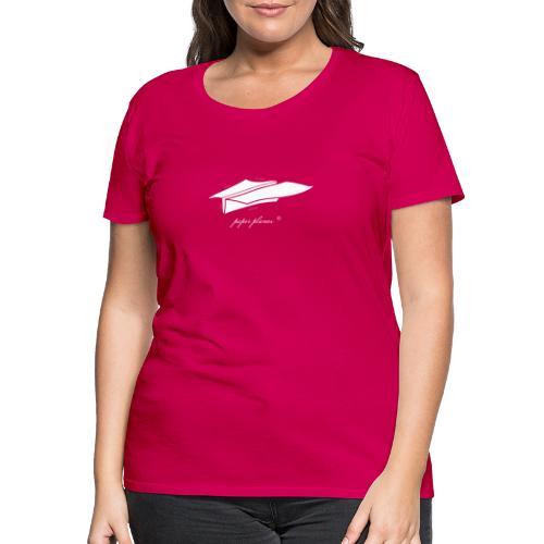 Paper Planes Blueprint - Vrouwen Premium T-shirt