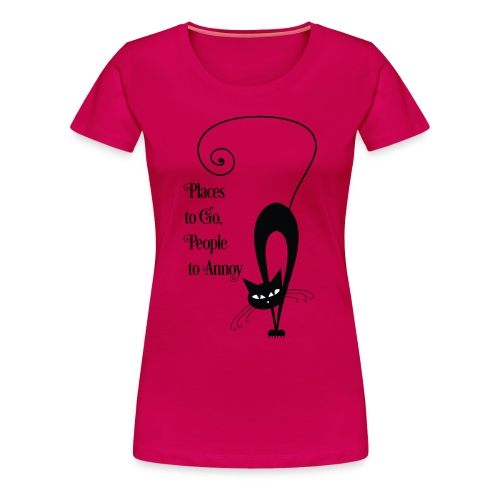 PlacesToGo - Women's Premium T-Shirt