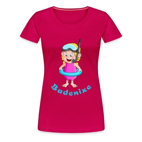 Badenixe - Schwimmerin - Frauen Premium T-Shirt