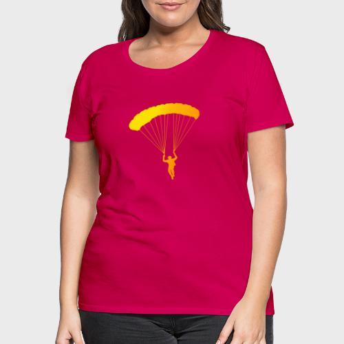 Colorfull Skydiver - Frauen Premium T-Shirt