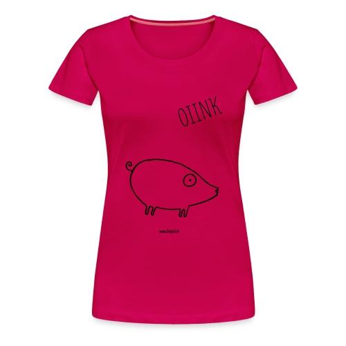 maiale - Maglietta Premium da donna