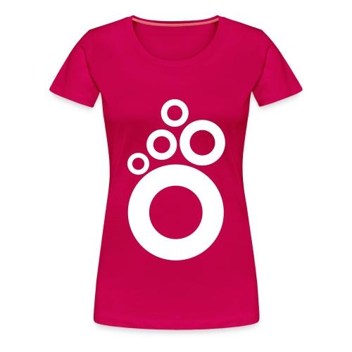 small logo rings - Premium-T-shirt dam