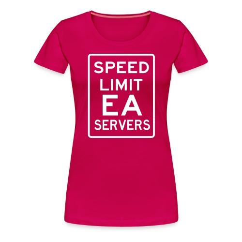 SpeedLimit - Women's Premium T-Shirt