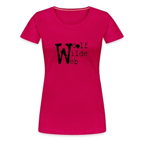 Camiseta Woolf Wilde Web - Camiseta premium mujer