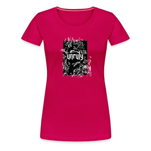 UNCURLY - Vrouwen Premium T-shirt
