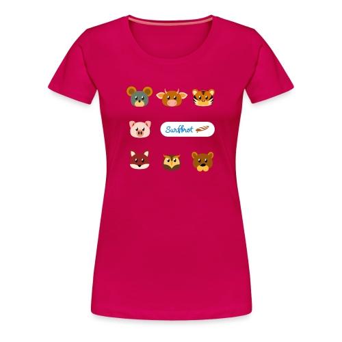 Surfbrot Serie 1 - Women's Premium T-Shirt