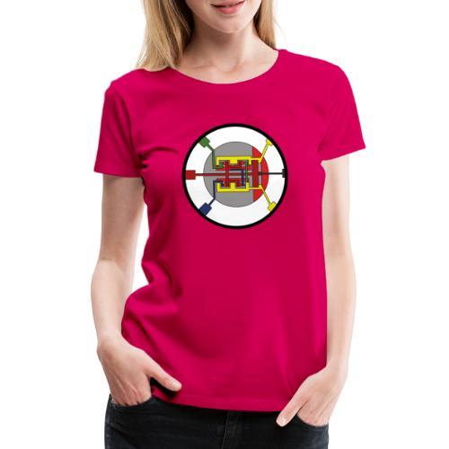 JackJohannes Hemp's Oscillator - Vrouwen Premium T-shirt