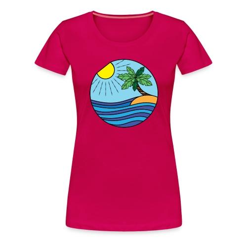 Strand Bunt - Frauen Premium T-Shirt