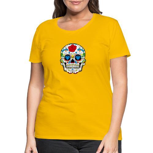 skull2 - Maglietta Premium da donna