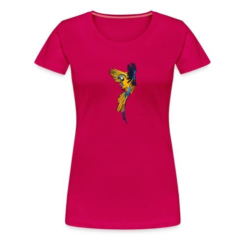 Macaw - Women's Premium T-Shirt