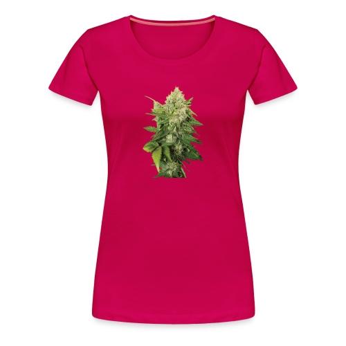 Cannabis Bud real - Frauen Premium T-Shirt