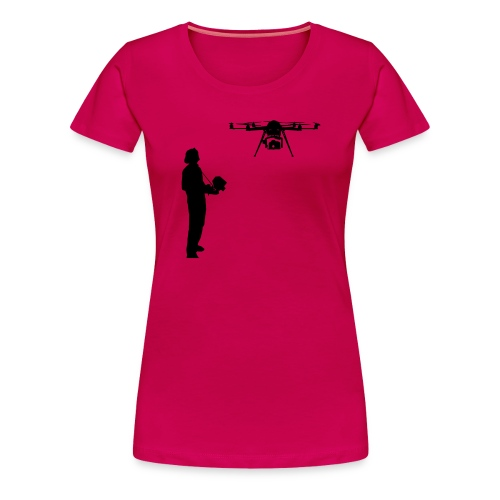 Operateur de drone - T-shirt Premium Femme