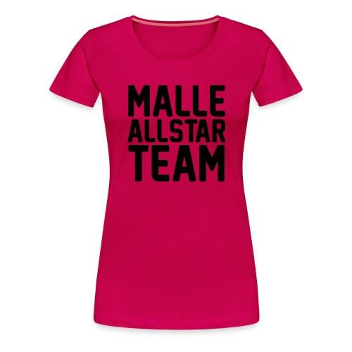Malle Allstar Team - Frauen Premium T-Shirt