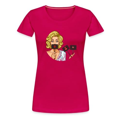 Koszulka usta 2 - Koszulka damska Premium